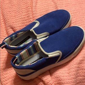 Tommy Hilfiger Shoes - Tommy Hilfiger blue slip on shoes